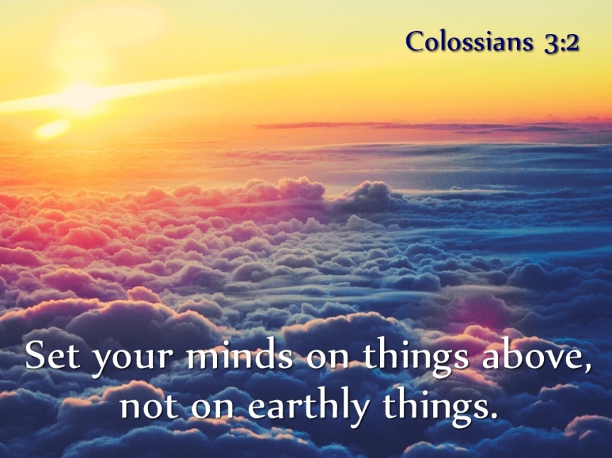 colossians 3v2